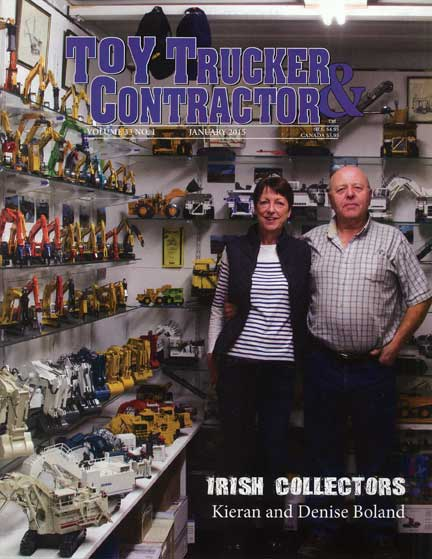 Irish Collectors; Kieran; Denise; Boland; Bigger is Better; Aerodyne; Feb 2015 Toy Trucker