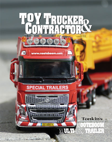 Subscribe; Crafted Models; Gorman; Nooteboom; 25 Years; RC; July TT&C; Toy Trucker