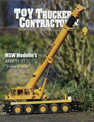 Aug Toy Trucker & Contractor; MSW Modelle; AMK 71-52; Franz Bracht; Toy Trucker & Contractor; Toy